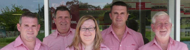 Elders insurance team members at Elders Insurance Albury office