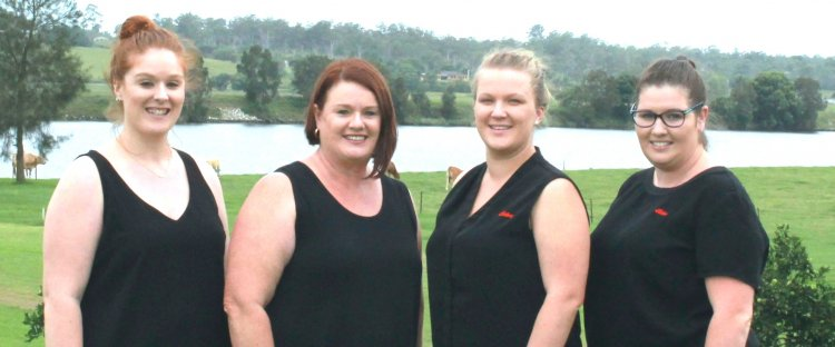 Elders insurance team members at Elders Insurance Coffs Harbour office