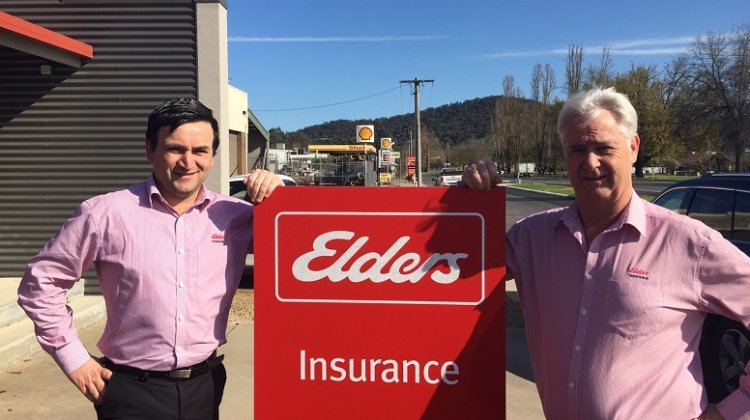 Elders insurance team members at Elders Insurance Myrtleford office