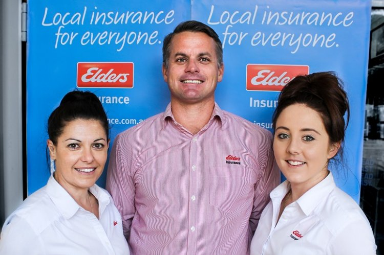Elders insurance team members at Elders Insurance Merredin office