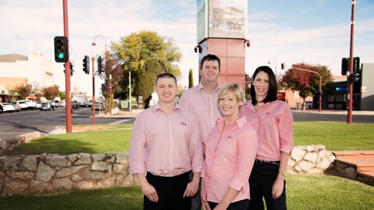 Elders insurance team members at Elders Insurance Swan Hill office