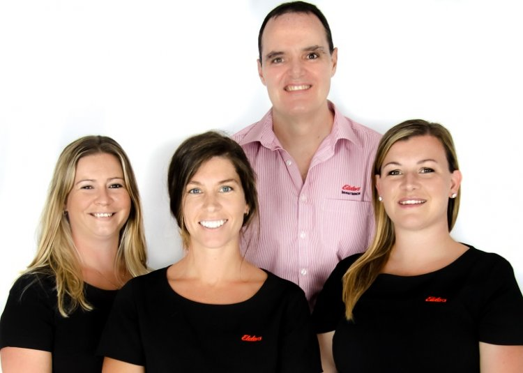 Elders insurance team members at Elders Insurance Ulladulla office