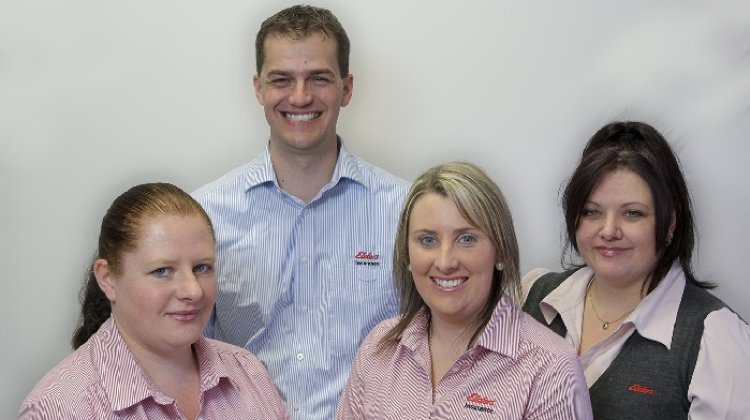 Elders insurance team members at Elders Insurance South West Victoria office