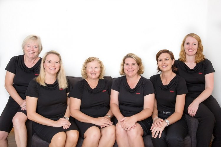 Elders insurance team members at Elders Insurance Tablelands office