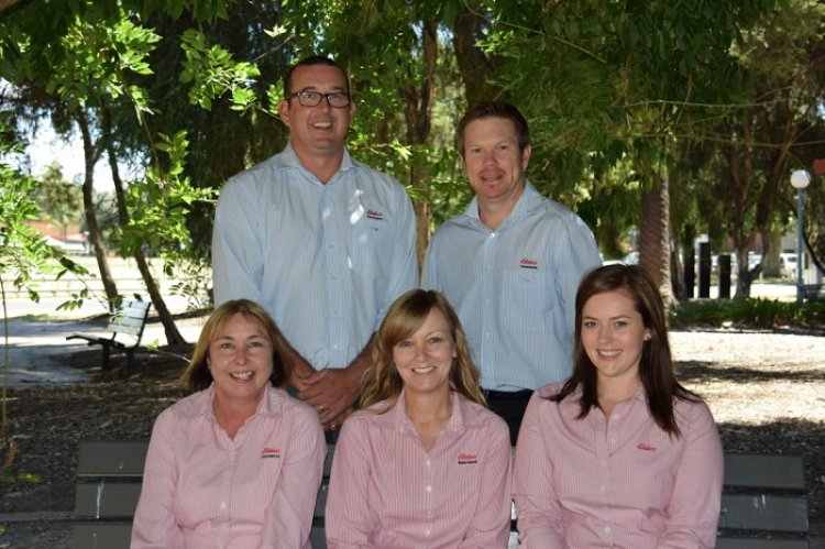 Elders insurance team members at Elders Insurance Tamworth office