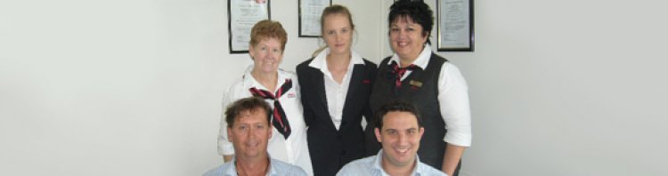 Elders insurance team members at Elders Insurance Yeppoon office