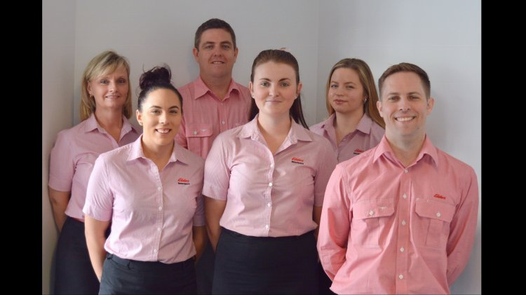 Elders insurance team members at Elders Insurance Rockhampton office