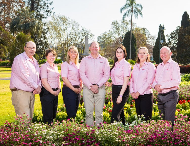 Elders insurance team members at Elders Insurance Toowoomba office